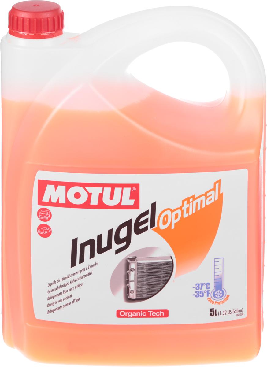 Антифриз Motul Inugel Optimal, флуоресцентный, цвет: оранжевый, 5 л102924Антифриз Motul Inugel Optimal - готовая к использованию антикоррозионная, низкозамерзающая (-37°C) охлаждающая жидкость. Создана по органической технологии.Не содержит нитритов, аминов, фосфатов, боратов, силикатов.Рекомендуется для всех охлаждающих систем: легковые автомобили, тяжелые грузовики, строительная и сельскохозяйственная техника, садовая техника, водная техника, стационарные двигатели.Товар сертифицирован.