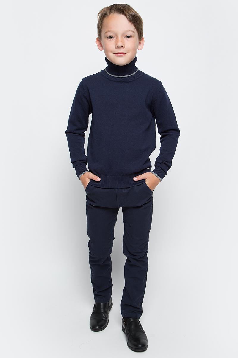 Брюки для мальчика Luminoso, цвет: темно-синий. 727060. Размер 164 брюки для мальчика imperator цвет темно коричневый 26303 размер 42 164 15 16 лет