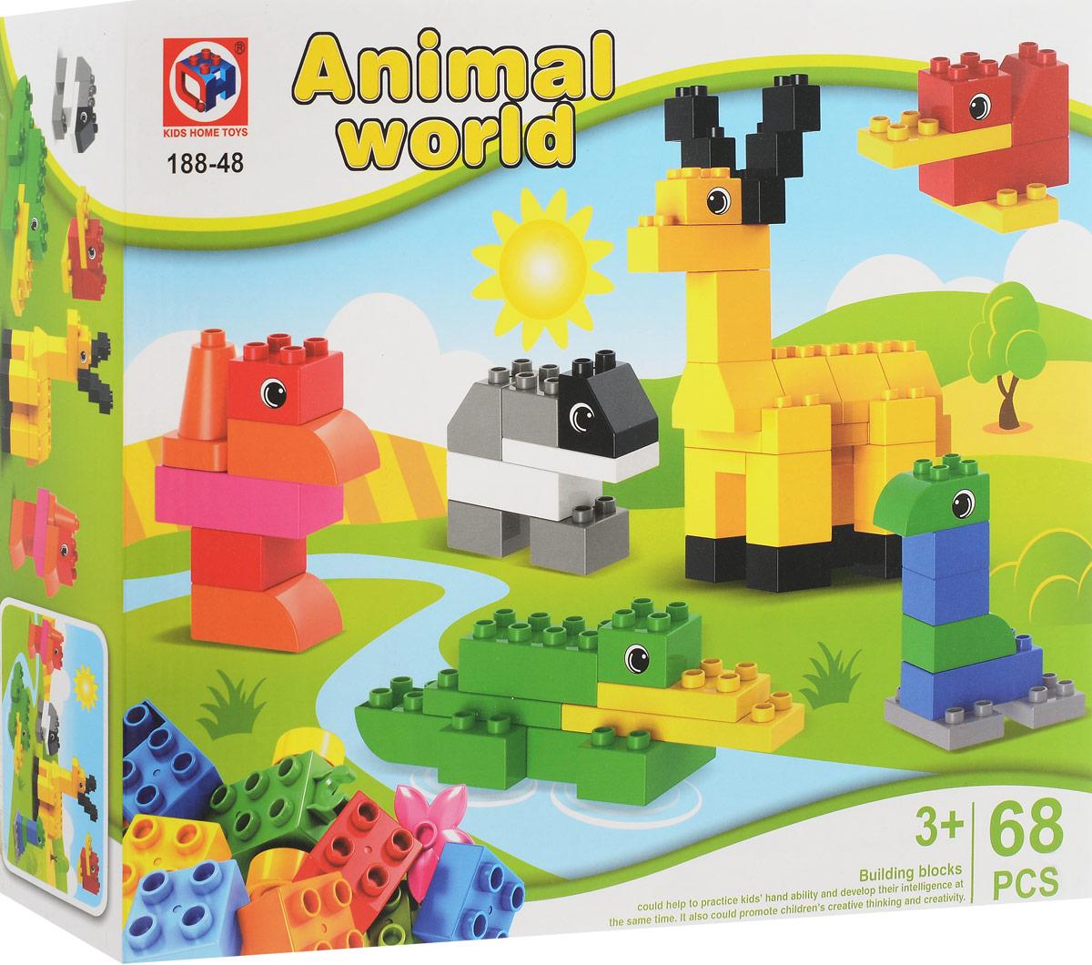 Concord Toys Конструктор Животные concord toys пупс в комбинезоне 26 см