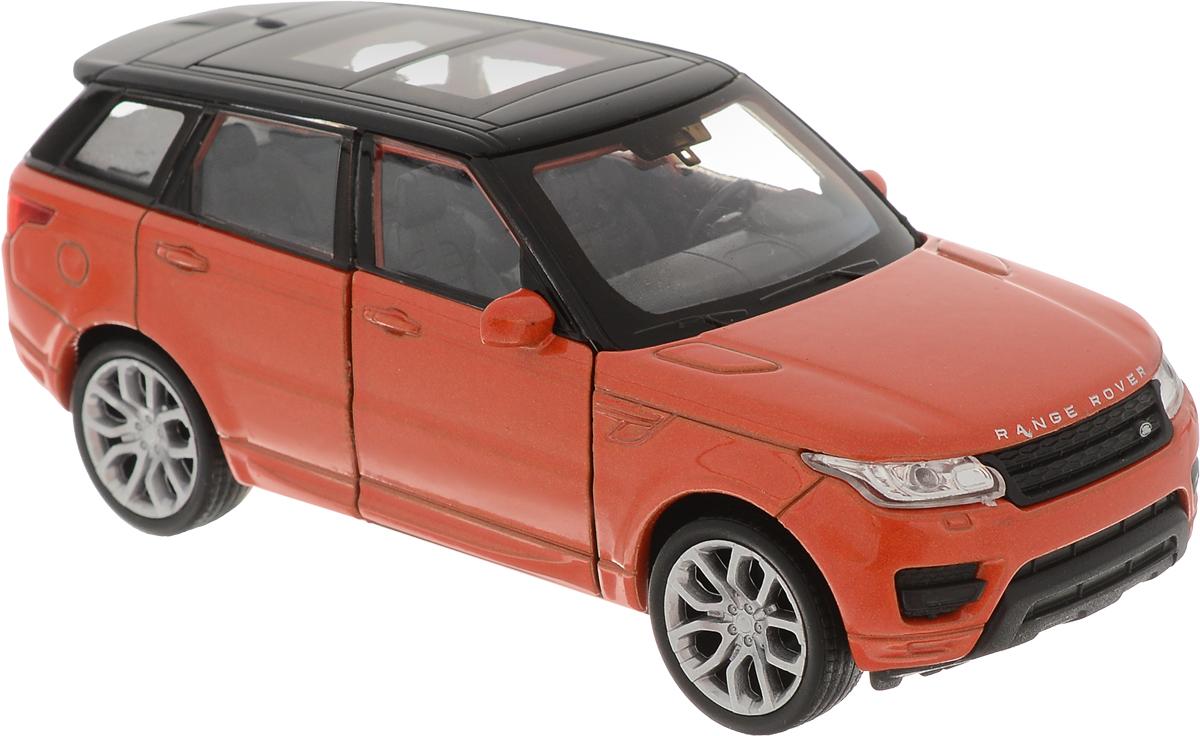 Welly Модель автомобиля Land Rover Range Rover Sport цвет кирпичный игрушка pitstop land rover range rover sport black ps 554007 bl