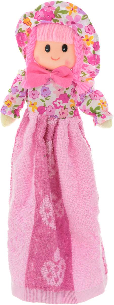 Sima-land Мягкая кукла Нина с полотенцем цвет розовый