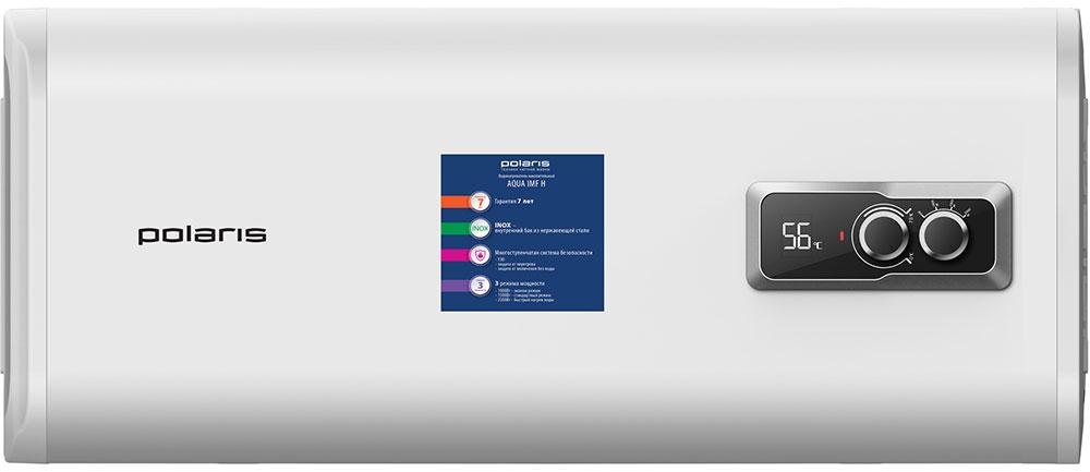 Polaris Aqua IMF 50H водонагреватель накопительный008236Polaris Aqua IMF 50H не только позволит постоянно иметь запас горячей воды и не зависеть от капризов системы центрального водоснабжения, но и даст возможность существенно сэкономить место. Этому поспособствует плоская форма корпуса устройства, а также конструкция, благодаря которой нагреватель можно монтировать на стену в горизонтальном положении.Бак представленной модели сделан из высококачественной стали AISI 304, характеризующейся отменными антикоррозийными свойствами. Эта аустенитная сталь отличается низким содержанием углерода, а также содержанием таких легирующих добавок, как никель и хром – 10% и 18% соответственно. Это делает сталь данной марки идеальным материалом для производства резервуаров для нагревателей воды. Уникальной особенностью сплава является то, что хром создает на его поверхности оксидную пленку, которая обладает высокой стойкостью к коррозии. Этому слою не страшны никакие механические воздействия, ведь при разрушении он практически мгновенно восстанавливается.SPLIT TECH представляет собой новейшую разработку компании, которая была запатентована и представлена рынку в 2017 году. Данное техническое решение, которое смело можно назвать революционным, предусматривает структурирование двух колб без использования внутренних патрубков и уменьшения количества сварочных швов, что позволяет: снизить риск возникновения протечек;быстрее нагревать воду и дольше удерживать тепло благодаря раздельным секциям;не смешиваться холодной и уже нагретой воде;делать бак водонагревателя более узким и экономить драгоценное пространство;увеличить срок службы водонагревателя относительно срока гарантийного обслуживания;существенно упростить обслуживание бойлера.Специальный стержень, покрытый слоем магния, исполняет защитную функцию, оберегая бак от электрохимических процессов, которые могут иметь крайне агрессивное воздействие. Основное предназначение магниевого анода – защита бойлера от коррозии. Также данный эле