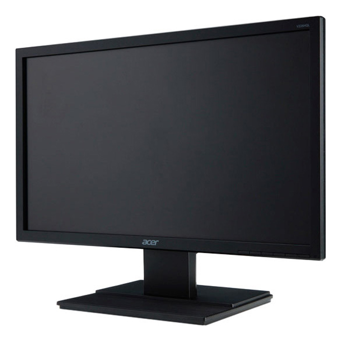 Acer V226HQLbd, Black мониторUM.WV6EE.006Монитор Acer 21.5 V226HQLbd черный TN+film LED 5ms 16:9 DVI Mat 250cd