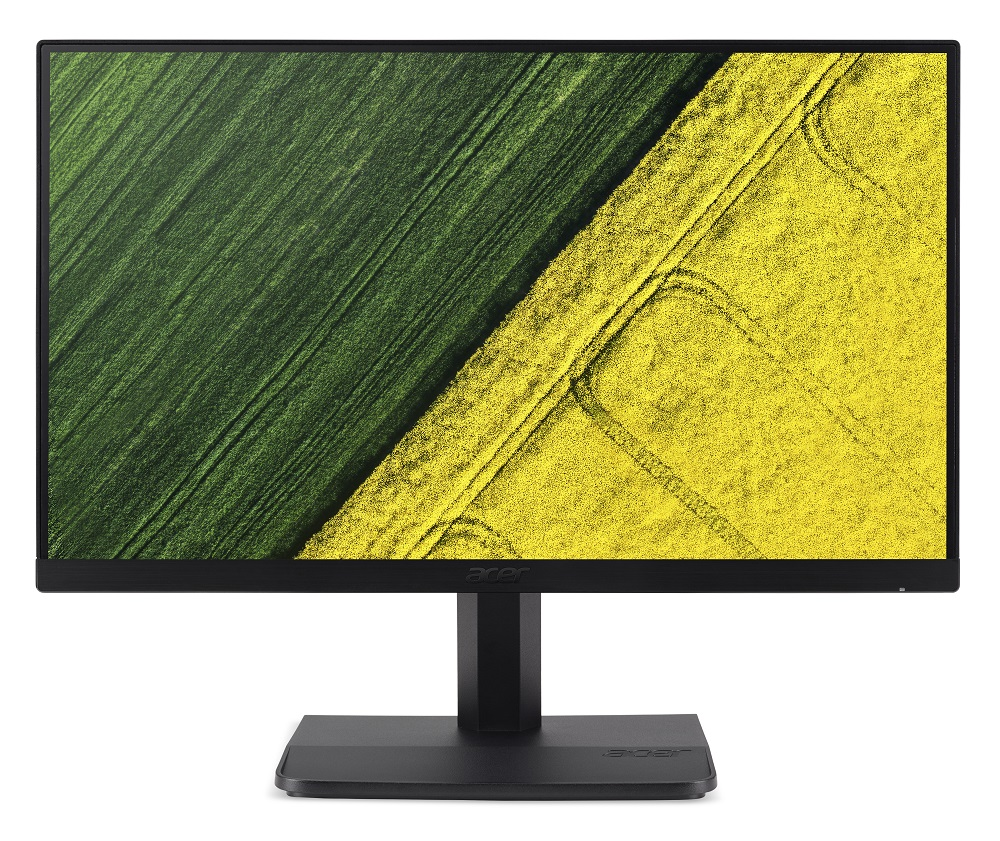 Acer ET241Ybi, Black мониторUM.QE1EE.001Монитор Acer 24 ET241Ybi черный IPS LED 4ms 16:9 DVI HDMI Mat 100000000:1 250cd