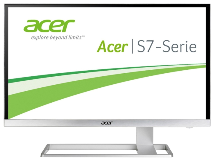 Acer S277HKwmidpp, White монитор - Мониторы