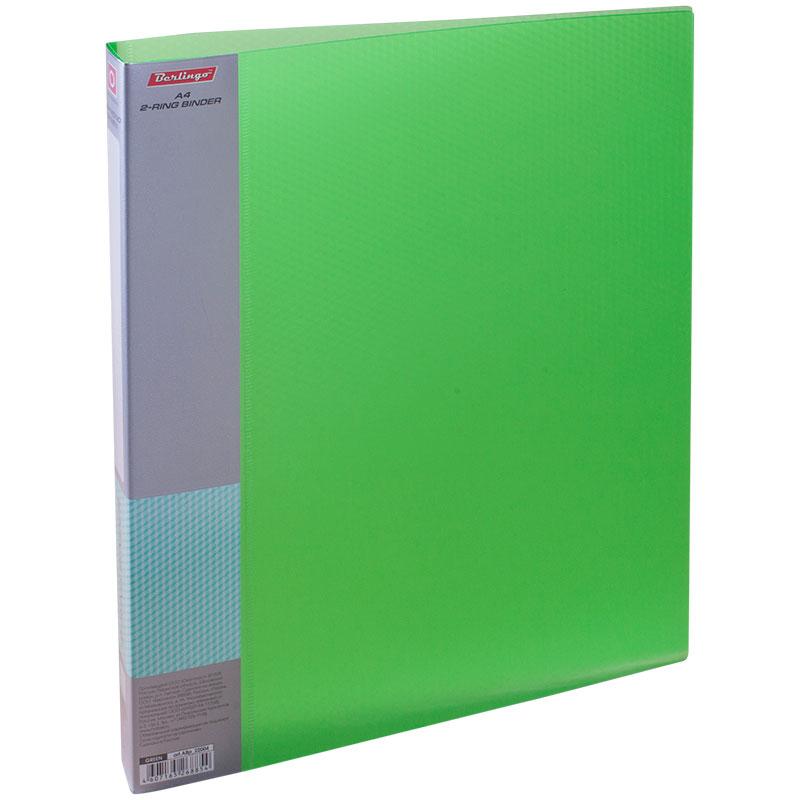 Berlingo Папка Diamond с 60 вкладышами цвет зеленый папка aro c 20 вкладышами
