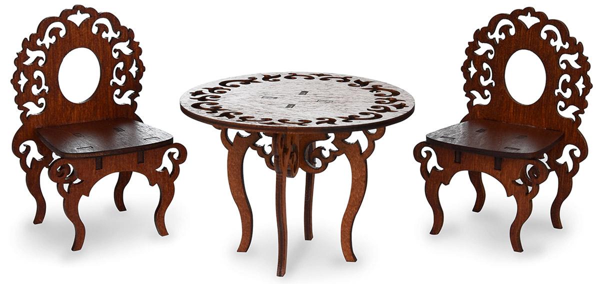 ЯиГрушка Мебель для кукол Стол и два стула