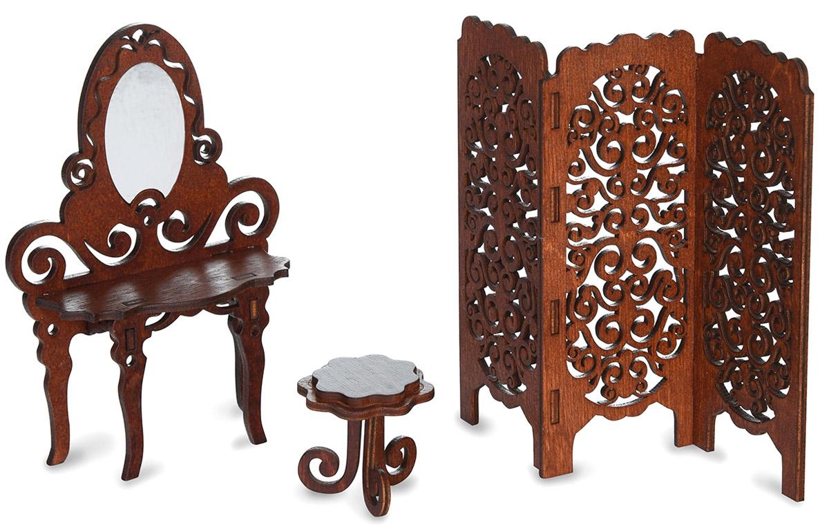ЯиГрушка Мебель для кукол Будуар туалетный столик с зеркалом икеа каталог