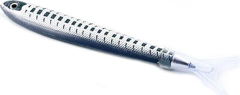 Эврика Ручка шариковая Рыбка цвет корпуса черный96555Удивительная ручка, похожая на рыбацкую блесну, привлечет внимание как любителей рыбной ловли, так и любителей забавных письменных аксессуаров.Стержень сменный, цвет чернил - синий.