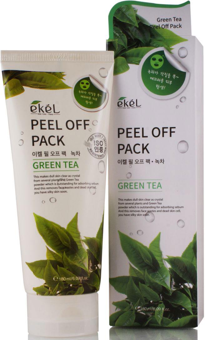 Ekel Маска-пленка с экстрактом зеленого чая, 180 мл539652Маска с экстрактом зеленого чая делает кожу кристально чистой, экстракт зеленого чая обладает увлажняющим и восстанавливающим действием. Очищает кожу от загрязнений. Подходит для жирной и комбинированной кожи восстанавливает жировой баланс. Маска-пленка отшелушивает мертвые клетки кожи, не травмируя верхний слой эпидермиса. Превосходно очищает и обновляет клетки, регулирует работу сальных желез, устраняет воспаления и шелушения, стягивает поры, восстанавливает минеральный состав кожи, оказывает антисептическое действие, заживляет ранки, одновременно увлажняя, подтягивая и разглаживая кожу. Способствует устранению, а в дальнейшем и препятствует образованию «черных точек». Стимулирует клеточный метаболизм, тонизирует и укрепляет кожу. В результате применения, цвет лица улучшается, кожа получает заряд энергии, больше питательных веществ, увлажнения и кислорода. Маска-пленка активирует защитные функции кожи, прекрасно тонизирует, освежает, оставляя кожу гладкой и бархатистой.