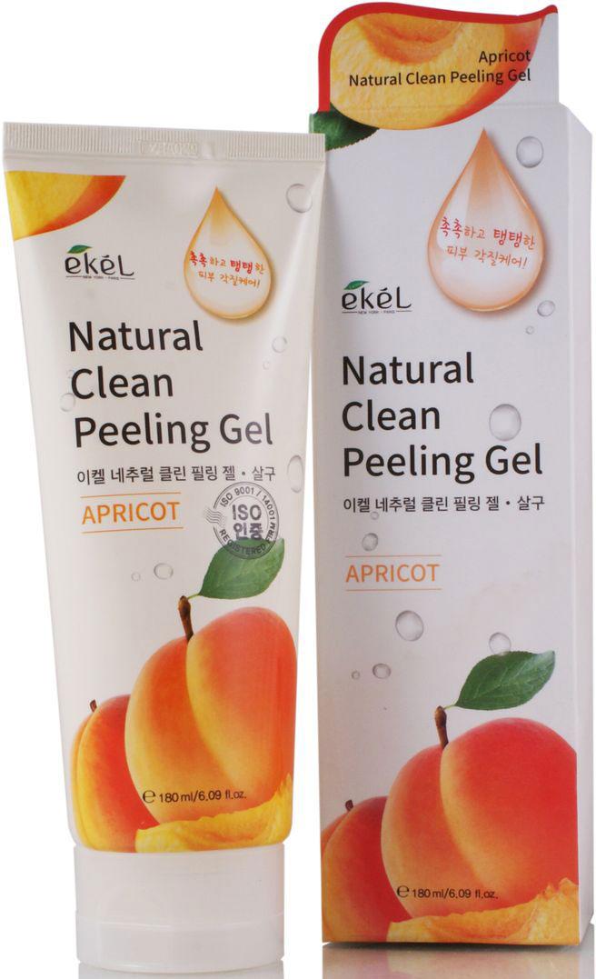Ekel Пилинг-скатка с экстрактом абрикоса, 180 мл539720Пилинг-скатка для лица с экстрактом абрикоса эффективно отшелушивает омертвевшие клетки кожи лица и шеи. Глубоко очищает поры. Выравнивает поверхность кожи. Экстракт абрикоса содержит сахар, декстрины, пектиновые вещества и крахмал - увлажняющие вещества продолжительного действия, способствующие быстрому восстановлению баланса влаги в коже; антиоксиданты (каротиноиды, флавоноиды и витамин С) эффективно замедляют процесс преждевременного старения. Абрикос обладает успокаивающим воздействием на кожу, предотвращает воспаления и появление прыщей и высыпаний. Абрикос полезен как для чувствительной кожи, склонной к шелушению, так и для жирной кожи, обладающей нездоровым сальным блеском. Подходит для любого типа кожи.
