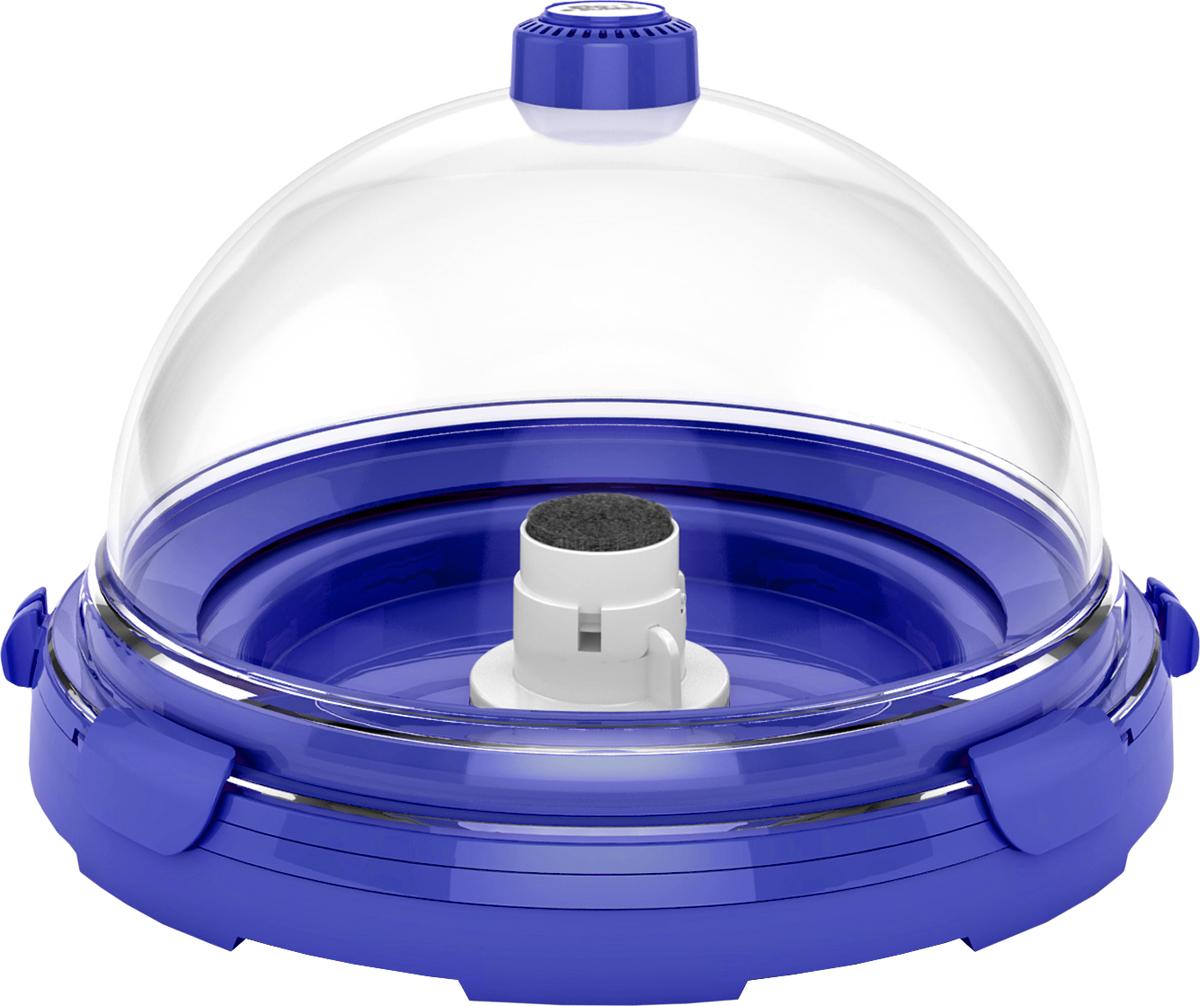 Комплект-аквариум BioBubble Aquarium Bundle, для пресной и морской среды, цвет: синий, прозрачный, 11 л8003Теперь у любителей флоры и фауны есть прекрасная возможность создать среду обитания по своему вкусу.Высокотехнологичный панорамный комплект-аквариум BioBubble Aquarium Bundle, выполненный из акрила, поможет создать настоящее подводное царство. Он состоит из основания, купола, компрессора, фильтрационного насоса, лампочки (подвески), угольного фильтра.Изделие идеально подойдет для создания и поддержания морской и пресной среды обитания. Объем: 11 л.