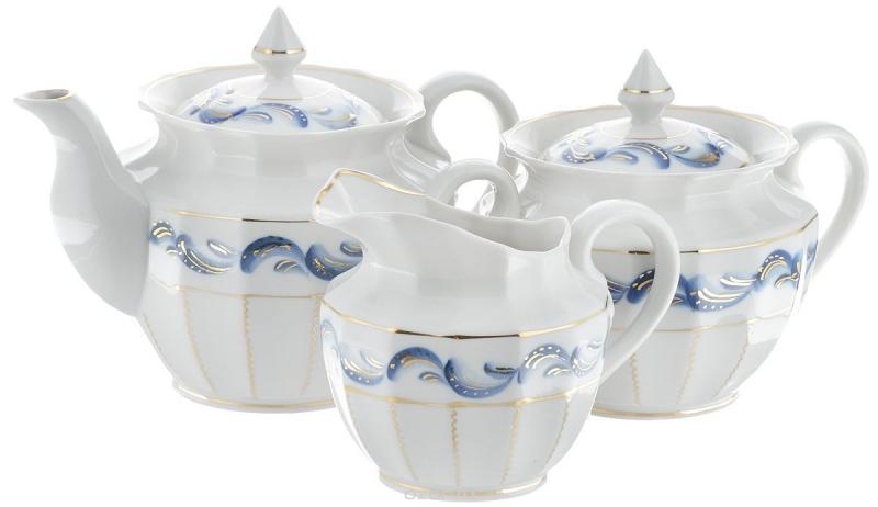 Сервиз чайный Фарфор Вербилок Синяя птица. 2559460П2559460ПЧайные сервизы – это эксклюзивные наборы чашек и блюдечек. Все они отличаются совершенным качеством и неповторимостью. Каждый чайный сервиз из фарфора способен привнести в дом настроение праздничного застолья. Такие наборы подарят вам теплые ощущения от общения с близкими.