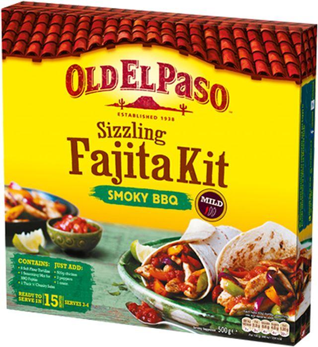 Old El Paso набор для приготовления фахита барбекю, 500 г чай витапром млечный путь сухая смесь для кормящих женщин 400 г