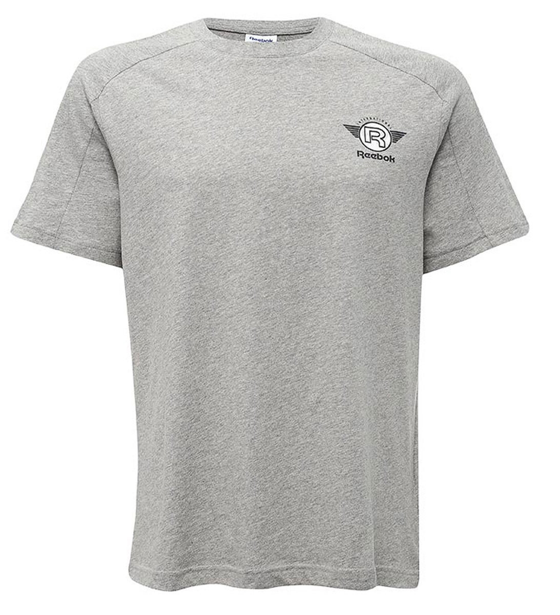 цены на Футболка мужская Reebok F Gr Tee, цвет: серый. BQ2700. Размер XL (56/58) в интернет-магазинах