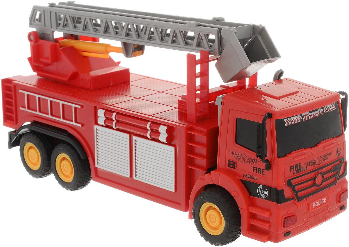 Concord Toys Пожарная машина пламенный мотор машинка инерционная volvo пожарная охрана