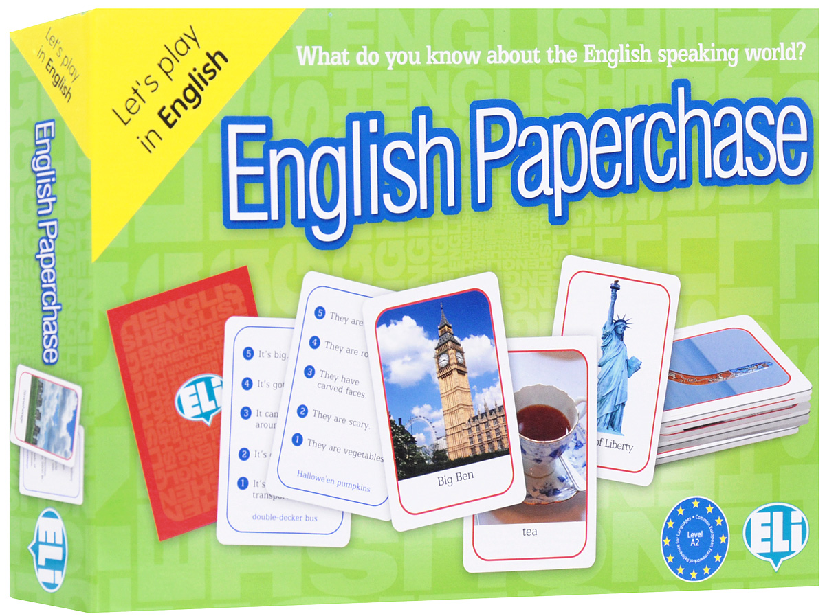 English Paperchase: А2: Game english with crosswords 3 dvdrom
