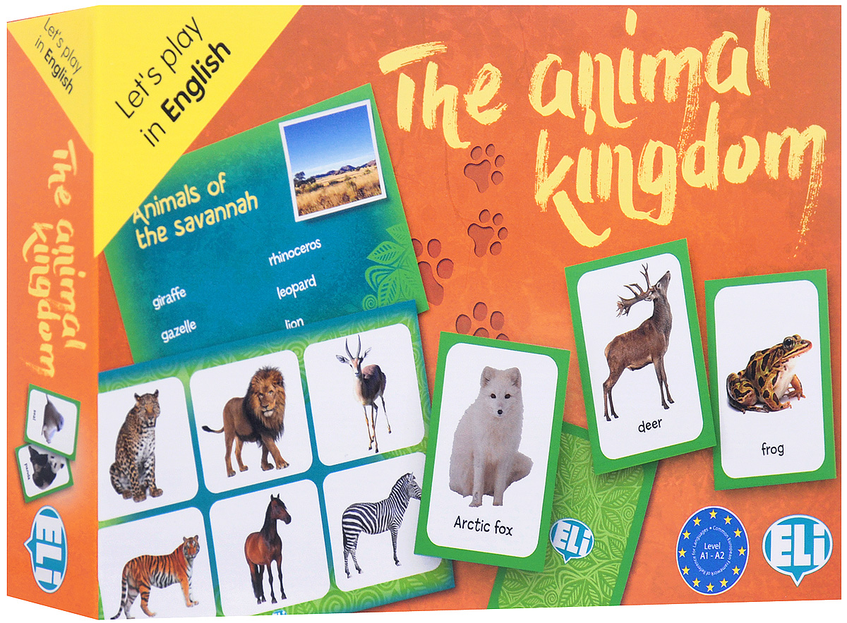 The Animal Kingdom: А1 - А2: Game lifeboats board game puzzle cards games english chinese edition funny game for party family with free shipping