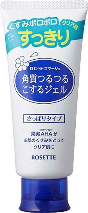 Rosette Мягкий гель-пилинг для удаления старой ороговевшей кожи, 120 г506899Легкий гель с фруктовыми кислотами растворит ороговевшие частички кожи, благодаря действию мягкого пилинга. После применения геля Ваша кожа мгновенно преобразится. Каждая клеточка кожи насытится кислородом! Благодаря нежному действию фруктовых кислот гель значительно смягчает кожу, а также позволяет уменьшить уровень пигментации, выравнивает рельеф и тон кожи. Ваша кожа станет гладкой, нежной и сияющей! Средство так же может использоваться для смягчения огрубевшей кожи на проблемных участках тела.