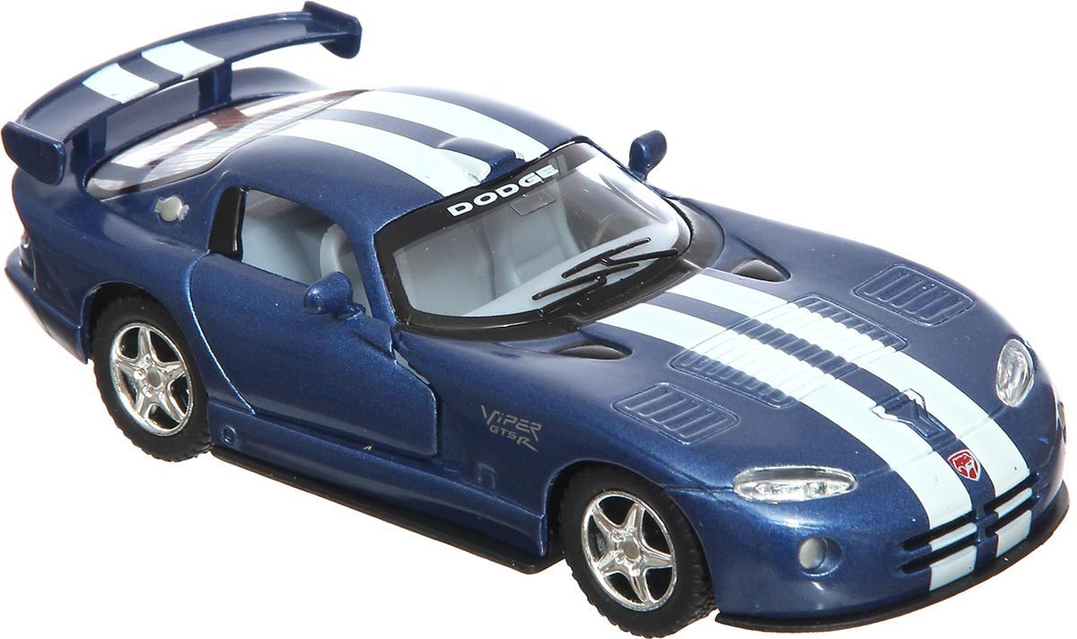 Kinsmart Модель автомобиля Dodge Viper GTSR модель автомобиля 1 24 motormax dodge viper srt10 racing 2003