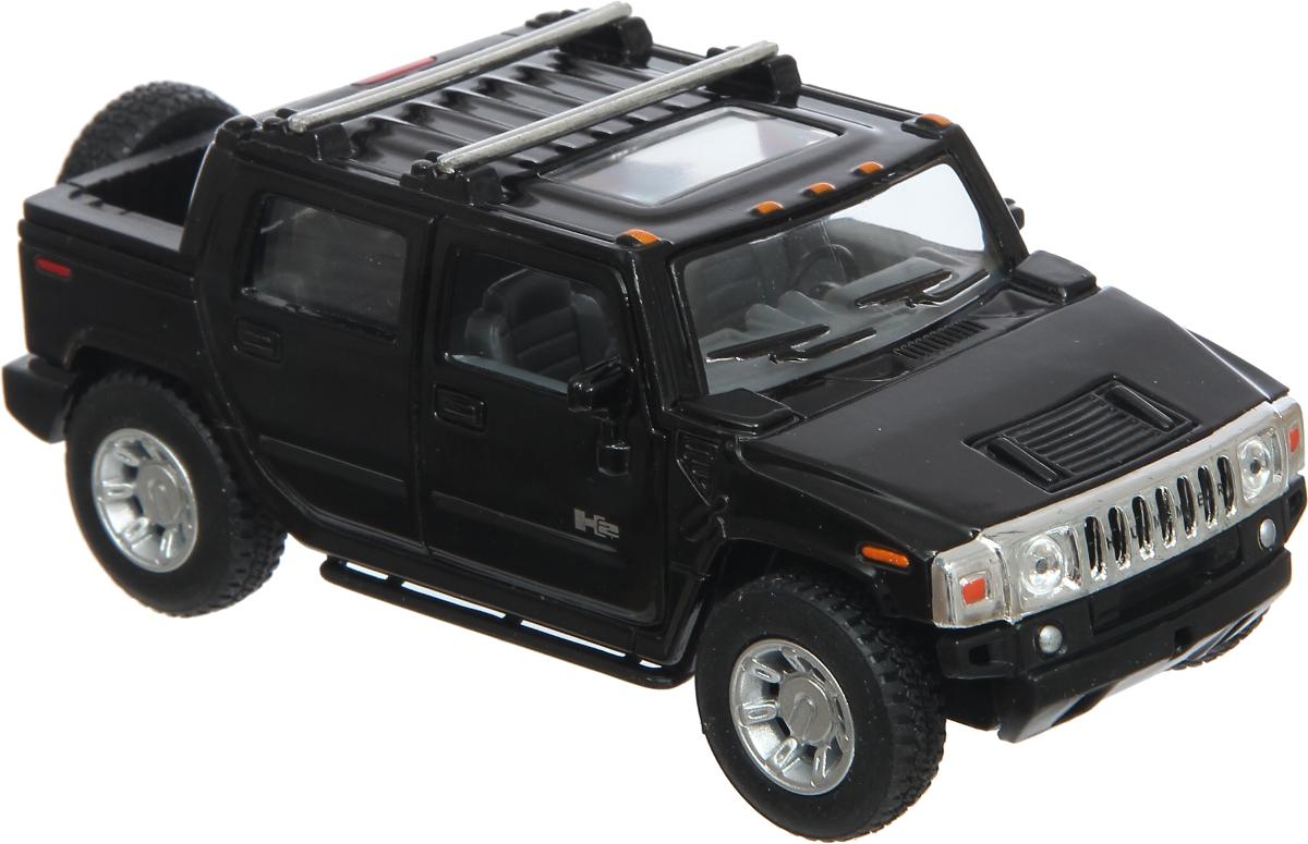 машины kidztech а м 1 26 hummer h2 Kinsmart Модель автомобиля Hummer H2 цвет черный