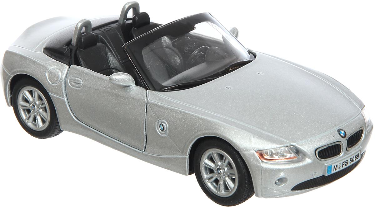 Kinsmart Модель автомобиля BMW Z4 цвет серебристый журнал моделей а1 мужские пиджаки авторские модели пароль для заказа лекал 5 выкроек