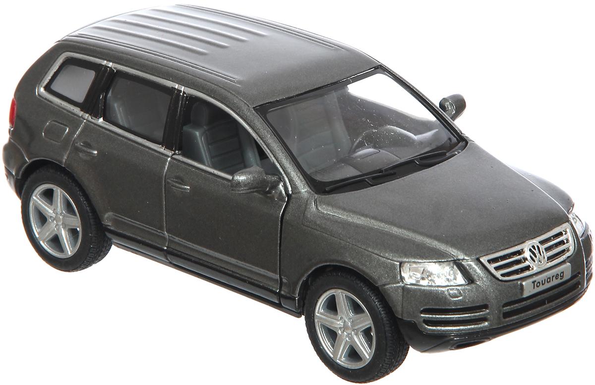 Kinsmart Модель автомобиля 2003 Volkswagen Touareg цвет темно-серебристый журнал моделей а1 мужские пиджаки авторские модели пароль для заказа лекал 5 выкроек
