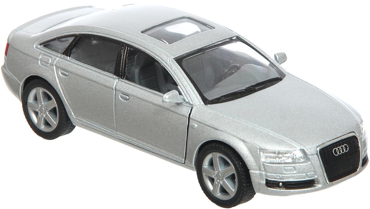 Kinsmart Модель автомобиля Audi A6 цвет серый купить шины б у для audi a6 в перми