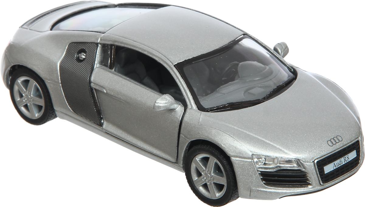 Kinsmart Модель автомобиля Audi R8 welly модель автомобиля audi r8 v10 цвет красный