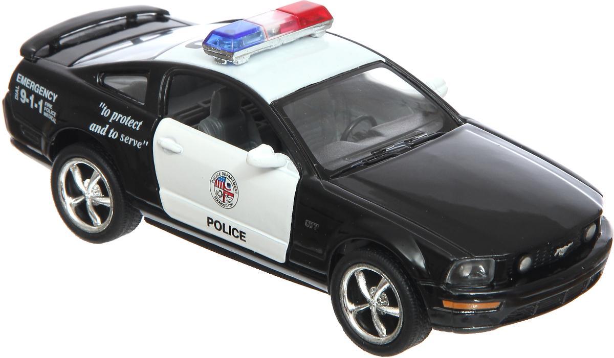 Kinsmart Модель автомобиля Ford Mustang GT Police комбо для гитары fender mustang gt 200