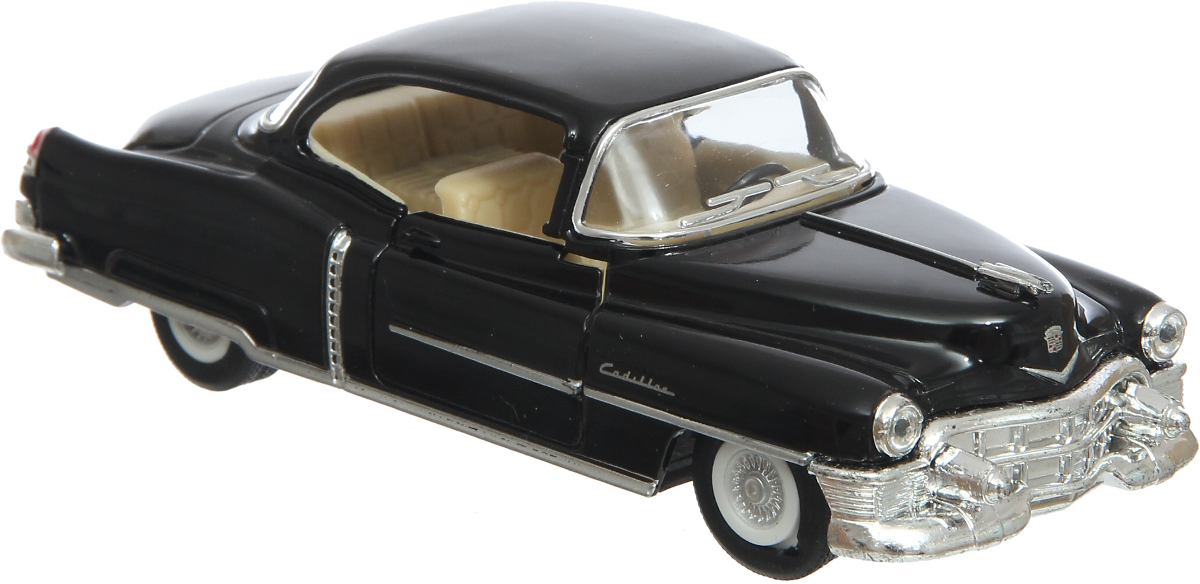 Kinsmart Модель автомобиля 1953 Cadillac Series 62 Coupe цвет черный advanced 128gb cctv camera 50 meters night vision waterproof housing