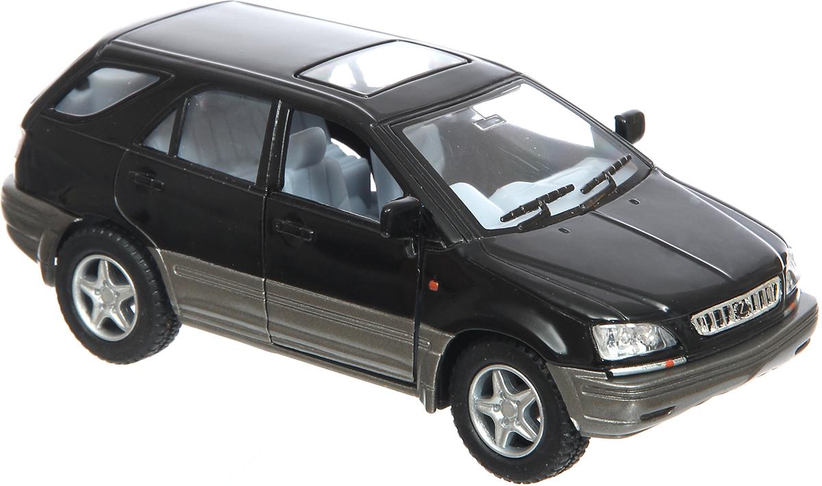 Kinsmart Модель автомобиля инерционная Lexus RX300 цвет черный машинка lexus lx570 1 43 технопарк