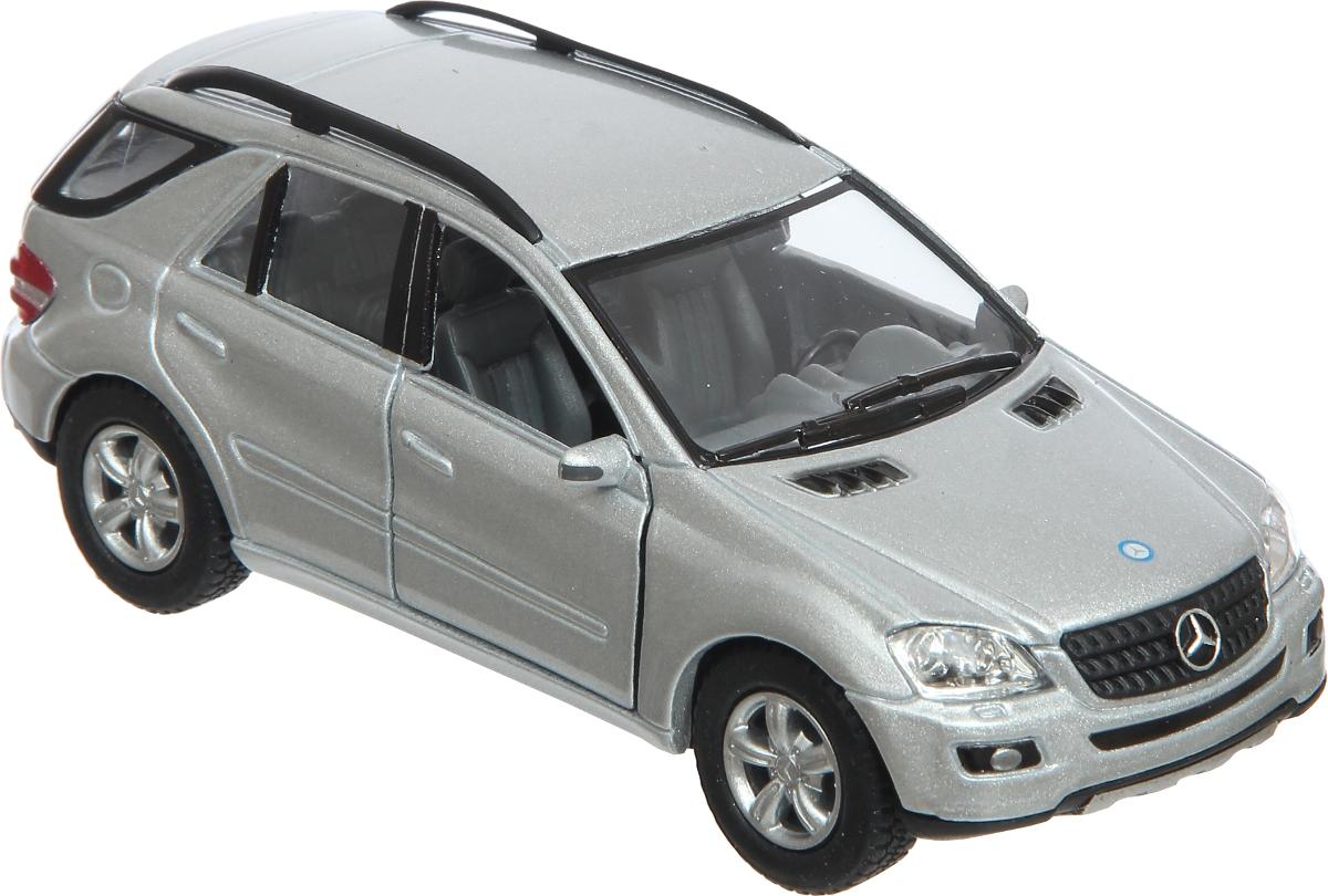 Kinsmart Модель автомобиля Mercedes-Benz ML-Class цвет серебристый mercedes а 160 с пробегом