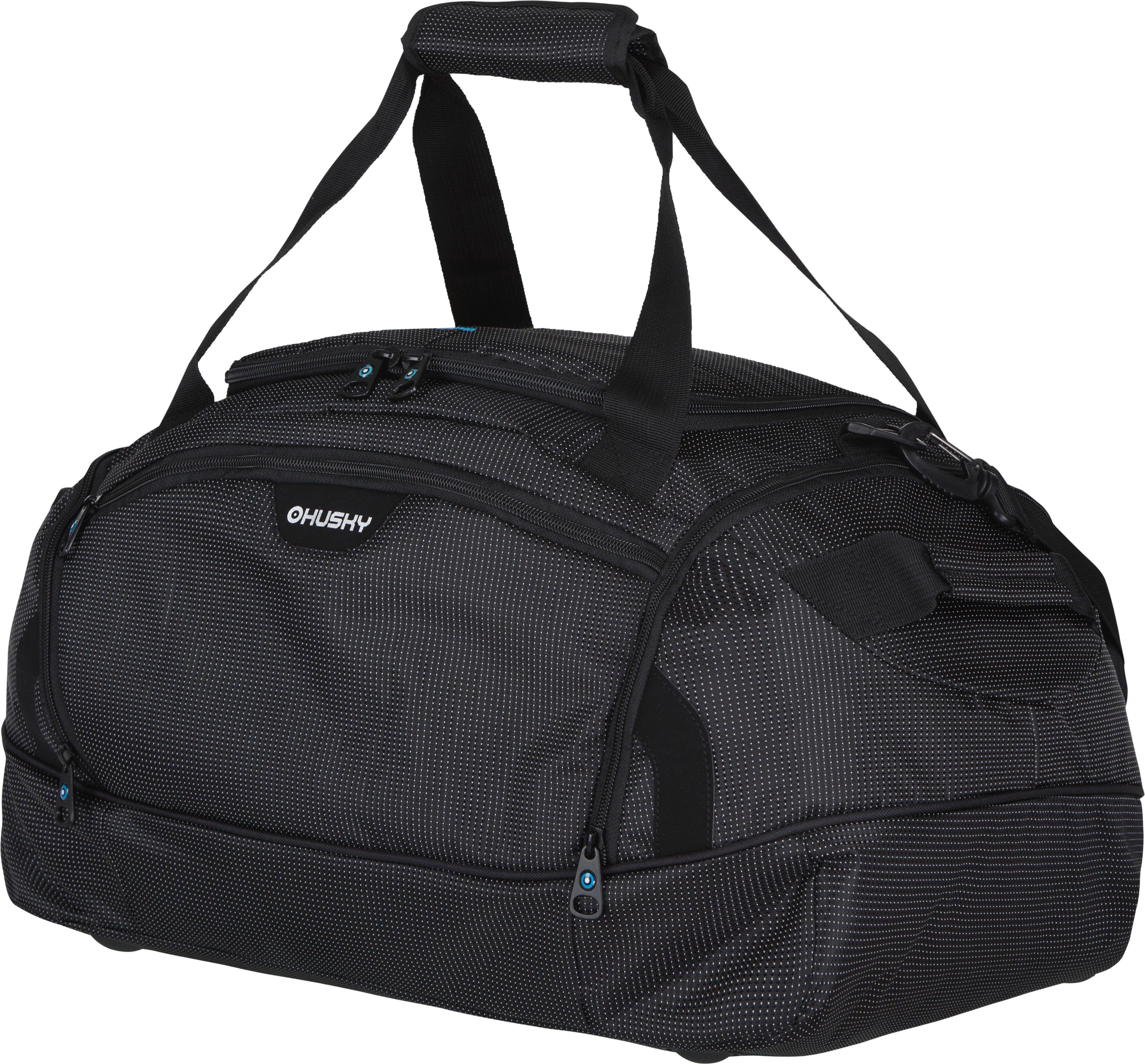 Сумка спортивная Husky Grape 60 L, цвет: черныйУТ-000048761Комфортная и практичная спортивная сумка Grape 60 L.Особенности модели: Водонепроницаемая ткань, Два боковых кармана, Внутренний органайзер, Съемный наплечный ремень.