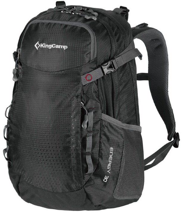 Рюкзак городской King Camp Energy 30, цвет: черный