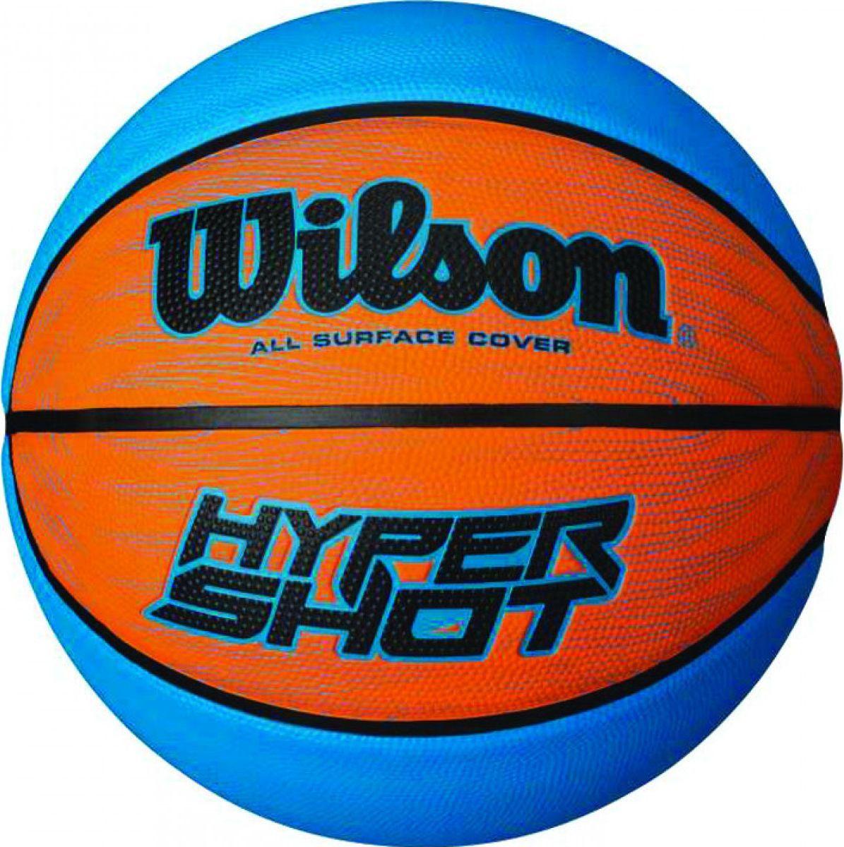 Мяч баскетбольный Wilson Hyper Shot I, цвет: синий, оранжевый. Размер 7WTB0961XBБаскетбольный мяч Wilson Hyper Shot I отлично подходит для комфортных тренировок и игр команд любого уровня.Мяч имеет губчатое резиновое покрытие, обеспечивающее наибольший контроль в условиях игры, а отверстие для надува снабжено специальной системой, сохраняющей максимум воздуха и давления.Мяч обладает большой цепкостью, он не выскальзывает из рук во время броска или дриблинга. Баскетбольный мяч рекомендован для тренировок и соревнований команд высокого уровня.Размер №7: для мужчин и юношей от 17 лет, официальный размер для соревнований.УВАЖАЕМЫЕ КЛИЕНТЫ!Обращаем ваше внимание на тот факт, что мяч поставляется в сдутом виде. Насос в комплект не входит.