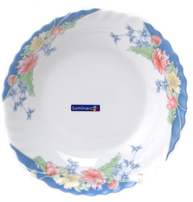 Салатник Luminarc ФЛОРАЙН, диаметр 18 см22585Бренд Luminarc – это один из лидеров мирового рынка по производству посуды и товаров для дома. В основе процесса изготовления лежит высококачественное сырье, а также строгий контроль качества. Товары для дома Luminarc уважают и ценят во всем мире, а многие эксперты считают данного производителя эталоном совершенства.