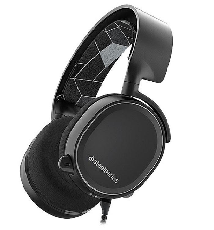 SteelSeries Arctis 3, Black игровые наушники tritton ark 100 stereo headset black игровые наушники для ps 4