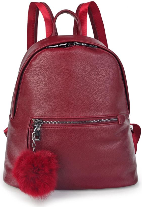Рюкзак женский OrsOro, цвет: бордовый. D-440/4