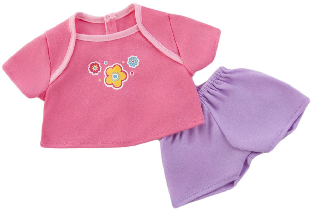 Mary Poppins Одежда для кукол Футболка и шорты Цветы