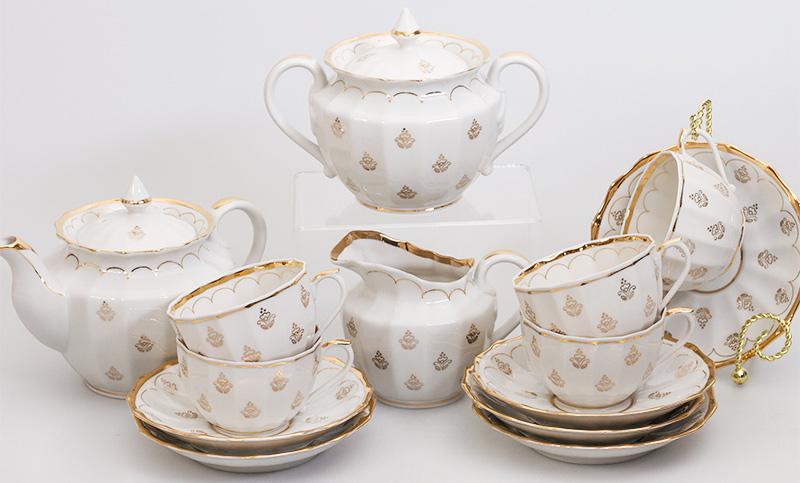 Сервиз чайный Фарфор Вербилок Королевский. 2057460П2057460ПЧайные сервизы – это эксклюзивные наборы чашек и блюдечек. Все они отличаются совершенным качеством и неповторимостью. Каждый чайный сервиз из фарфора способен привнести в дом настроение праздничного застолья. Такие наборы подарят вам теплые ощущения от общения с близкими.