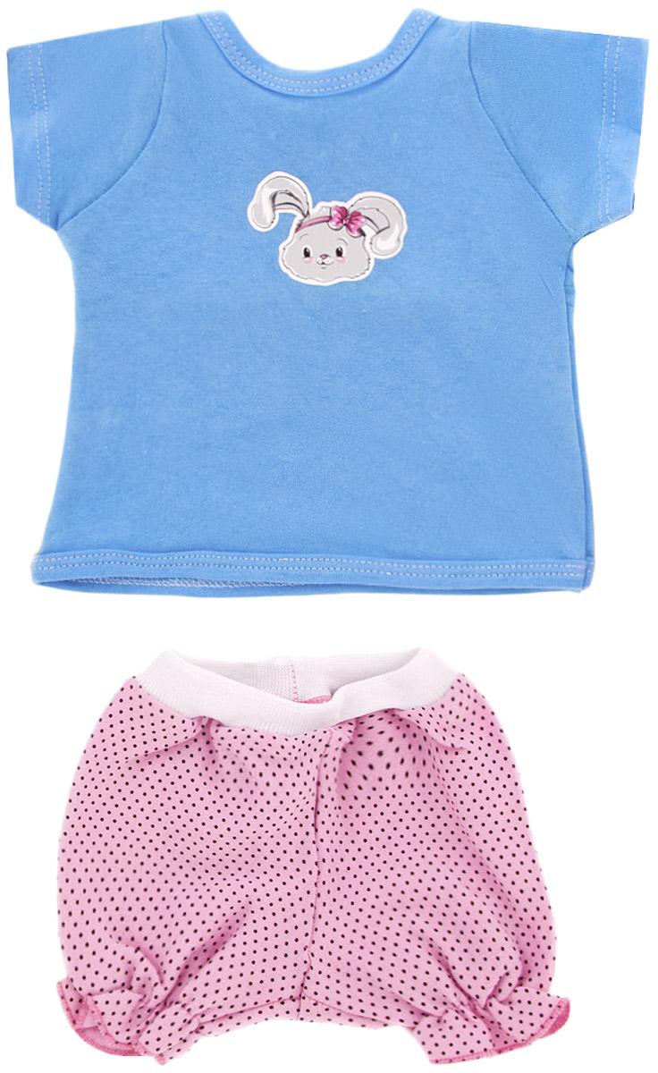 Mary Poppins Одежда для кукол Футболка и шорты Зайка куклы и одежда для кукол виана одежда для кукол 128 55