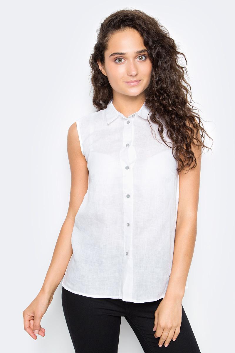 Рубашка женская Top Secret, цвет: белый. SKE0035BI. Размер 34 (42) ночная рубашка женская vienetta s secret васильки цвет зеленый 160379 9200 размер xxl 52
