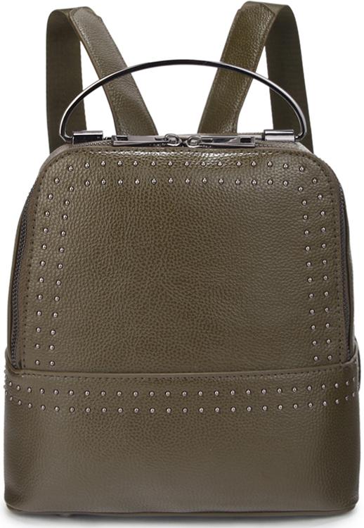 Рюкзак женский OrsOro, цвет: зеленый. D-449/4