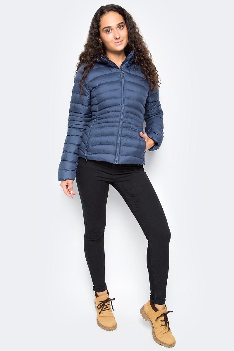 Куртка женская Reebok Od Bomber Dwnlk Jck, цвет: синий. S96428. Размер  (50/52)