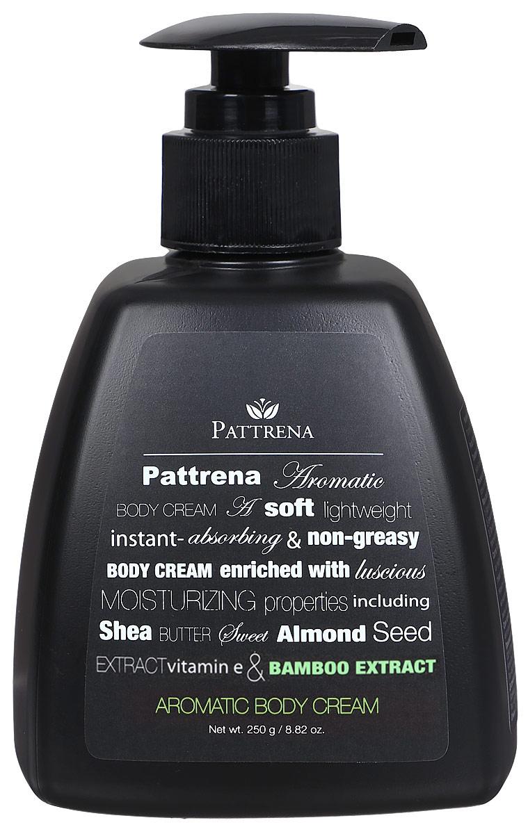 Pattrena Ароматный крем для тела Бамбук, 250 г60739Увлажняющий, мягкий, легкий, нежирный крем для тела. Обогащен натуральными увлажняющими ингредиентами - масло Ши, масло семян сладкого миндаля, витамина Е, экстракт Бамбука. Не оставляет ощущения липкости. Крем сохраняет длительное время ощущение свежести и увлажнения. Обладает антибактериальными свойствами.