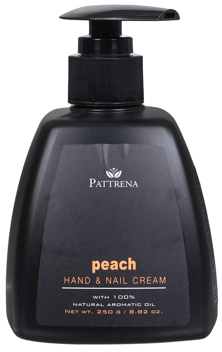 Pattrena Крем для рук и ногтей восточный тайский Персик, 250 г66637Крем для рук и ногтей легко впитывается, увлажняет кожу рук и ногти. Кератин укрепляет ногти, предотвращает от хрупкости. Улучшает цвет кожи, придает эластичность. Обладает ароматом нежного Персика.