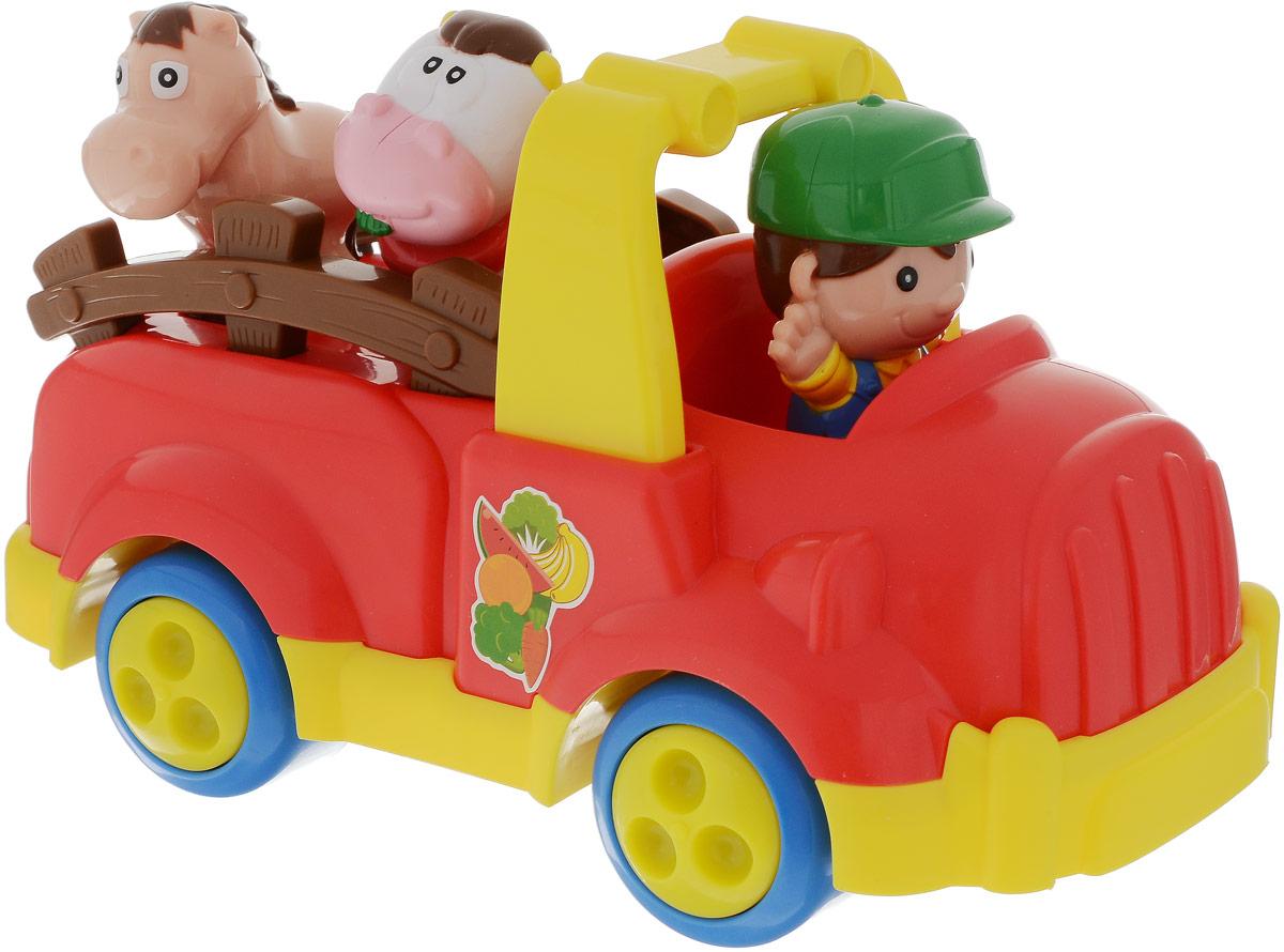 Keenway Машинка Веселая ферма keenway машинка веселая ферма