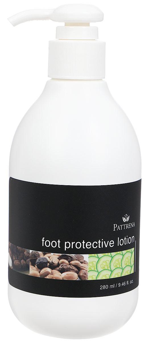 Pattrena Лосьон для ног Паттрена защитный, 280 мл65547Защитный лосьон для ног «Паттрена» для всех типов кожи. Полезные свойства: • Смягчает и увлажняет кожу. • Защищает кожу от огрубления и сухости. • Снимает напряжение.