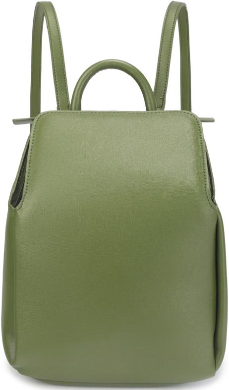 Рюкзак женский OrsOro, цвет: оливковый. D-431/3D-431/3Женский рюкзак OrsOro выполнен из искусственной кожи высокого качества.Рюкзак имеет одно вместительное отделение на молнии. В отделении присутствуют внутренний карман на молнии, карман для телефона сокантовкой. Снаружи имеется задний карман на молнии. Рюкзак обладает удобной ручкой сверху для переноски и двумя регулируемыми плечевыми лямками.